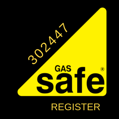Gas safe register logo in black