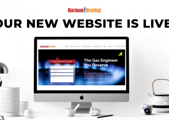 Harman Heating New Website Launch!