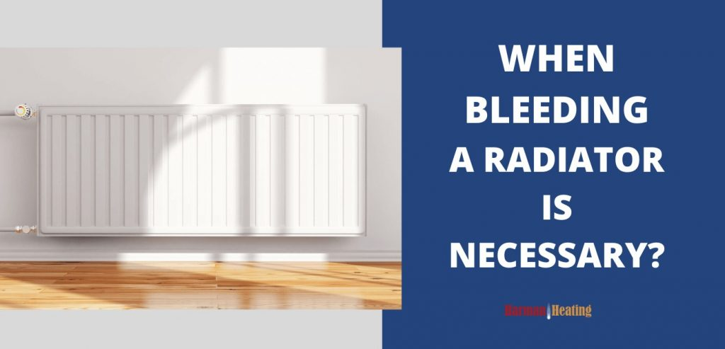 when bleeding a radiator is necessary - image for post